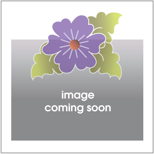Bird, Butterfly, Flower - Purple Dotz - w/ letters - Applique Set