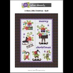 A Merry Little Christmas - Applique Quilt Pattern