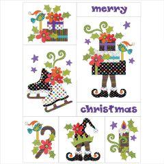 A Merry Little Christmas - Quilt - 8 Block - Set - Applique Quilt