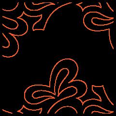 Acacia Leaves - Pantograph