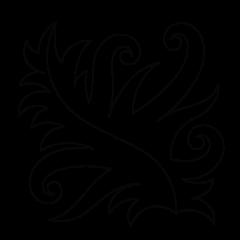 Agave - Block #2 - Stencil