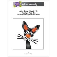 Alley Catz - Block #10 - Applique Add-On Pattern