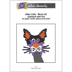 Alley Catz - Block #2 - Applique Add-On Pattern