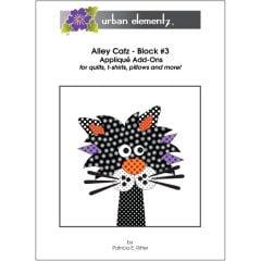 Alley Catz - Block #3 - Applique Add-On Pattern