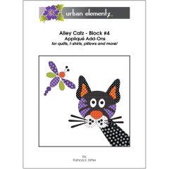 Alley Catz - Block #4 - Applique Add-On Pattern
