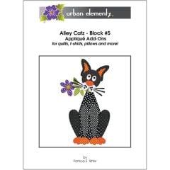 Alley Catz - Block #5 - Applique Add-On Pattern