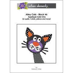 Alley Catz - Block #6 - Applique Add-On Pattern