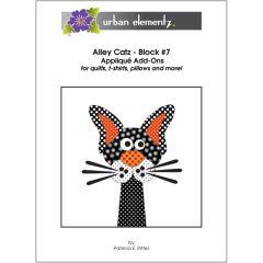 Alley Catz - Block #7 - Applique Add-On Pattern