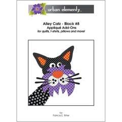 Alley Catz - Block #8 - Applique Add-On Pattern