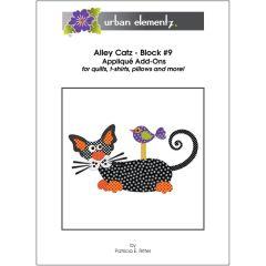 Alley Catz - Block #9 - Applique Add-On Pattern
