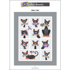Alley Catz - Applique Quilt Pattern