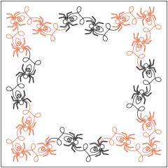 Along Came a Spider - Border - Panto/Corner Layout