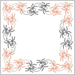 Along Came a Spider - Sashing - Panto/Corner Layout