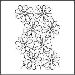 Apricot Moon's Daisy Doodles - Stencil