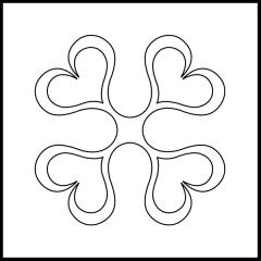 Andi's Ribbon Heart - Block #2