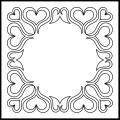 Andi's Ribbon Heart - Block #4