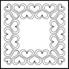 Andi's Ribbon Heart - Block #5