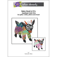 Baby Goat in PJ's - Applique Add-On Pattern