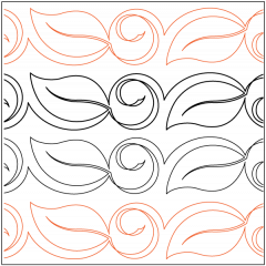Bali Leaf - Pantograph