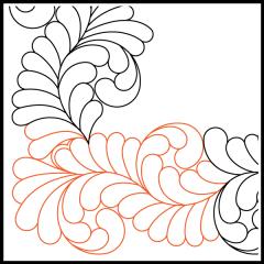 Basic Curled Feather - Corner