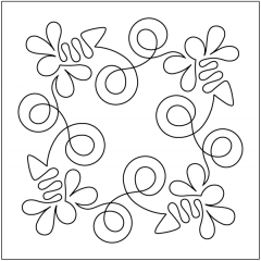 Bee Dazzled - Block - Stencil