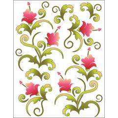 Blossoms - Pink - Tattoo