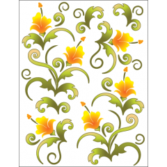 Blossoms - Tangerine - Tattoo