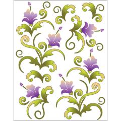 Blossoms - Violet - Tattoo