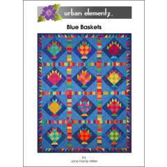 Blue Baskets - Pattern