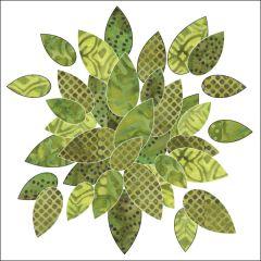 Bohemian Chic - Leaves - Batik - Applique