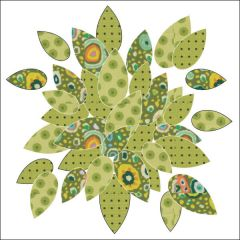 Bohemian Chic - Leaves - Dotz - Applique