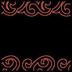 Boil, Toil & Tribal Scroll - Pantograph