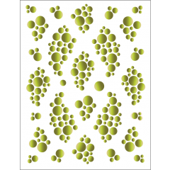 Bubbles - Green - Tattoo