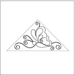 Butterfly Bliss - Triangle Block #1