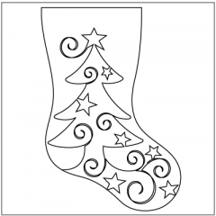 Christmas Whimsy - Stocking