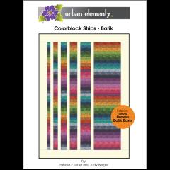 Colorblock Strips - Batik - Pattern