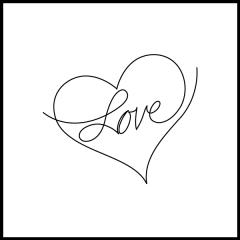 Conversation Hearts - Love - Motif
