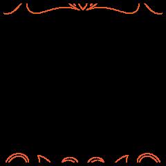 Dahlia Feathers #1 - Pantograph