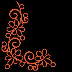 Daisy Doodle - Petite - Corner