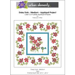 Daisy Dotz Quilt - Medium - Applique Pattern