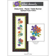 Daisy Dotz - Panel / Table Runner - Applique Project Pattern