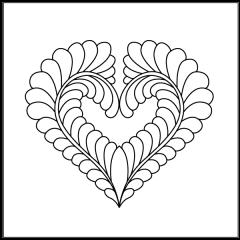Dove Heart - Motif