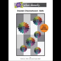 Dresden Checkerboard - Batik - Pattern