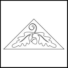 Fall Flurry - Triangle Block #1