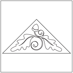 Fall Flurry - Triangle Block #2