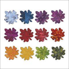 Falling Leaves - Maple - Small - Batik - Applique