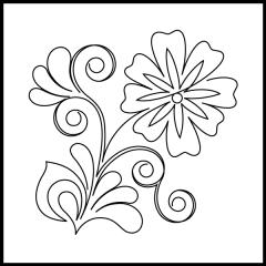 Flowering Plum - Motif