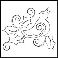 Four Calling Birds - Motif