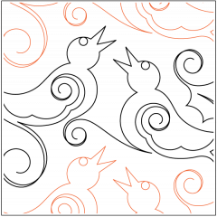 Four Calling Birds - Pantograph