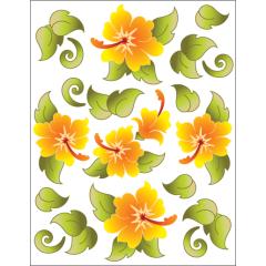 Hawaiian Holiday - Tangerine - Tattoo
